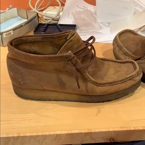Clark Wallabee Boot size 9